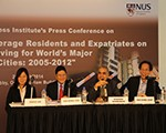 "ACI Press Conference on ""Annual Indices for Average Residents and Expatriates on Cost of Living for World's Major 109 Cities: 2005 - 2012"