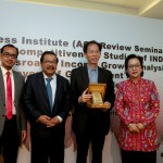 "Asia Competitiveness Institute (ACI) Review Seminar on ""Provincial and Regional Competitiveness Studies of INDONESIA: East Java at a Crossroads, Income Growth Analysis, Improving Layers of Government and Ease of Doing Business Index"