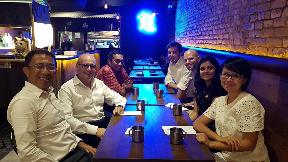 LKYSPP US Alumni meets up with Associate Dean Francesco Mancini