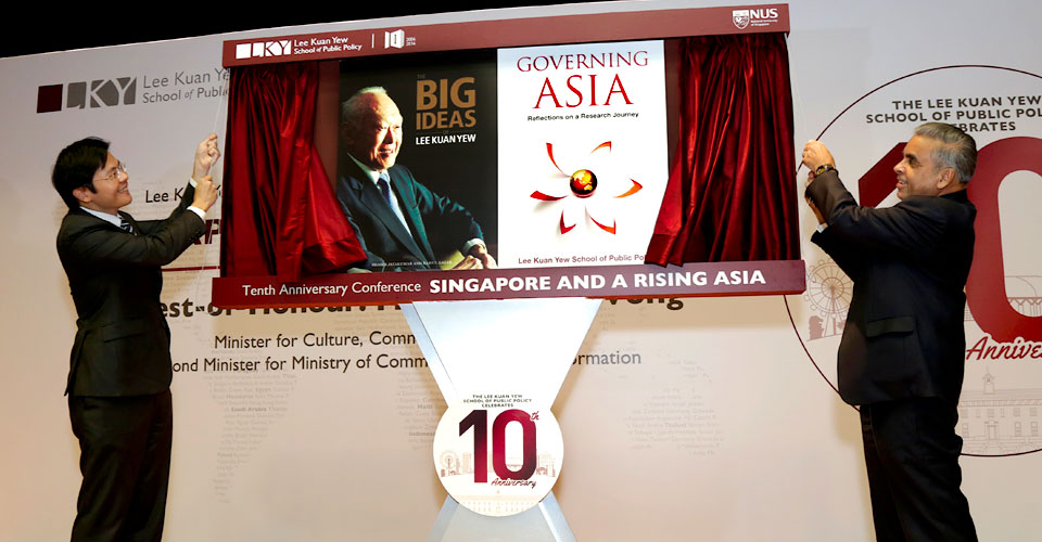 LKY School launches two books on public policy in Singapore and Asia 1