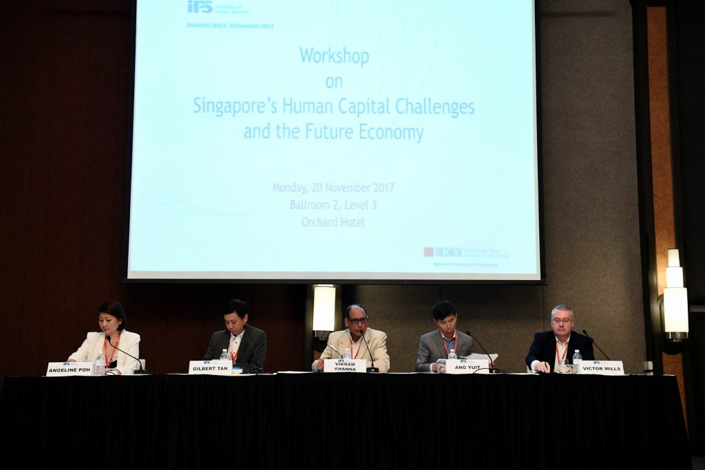 REPORT ON SINGAPORE'S HUMAN CAPITAL CHALLENGES AND THE FUTURE ECONOMY
