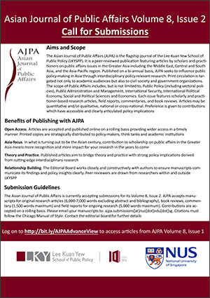 call for submissions - AJPA